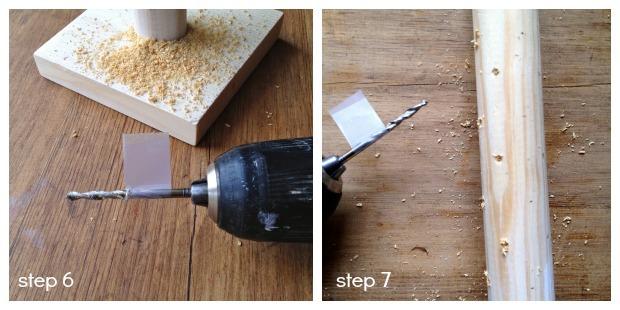 lollipop stand step 6 & 7