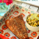Savory Spice-Rubbed Salmon