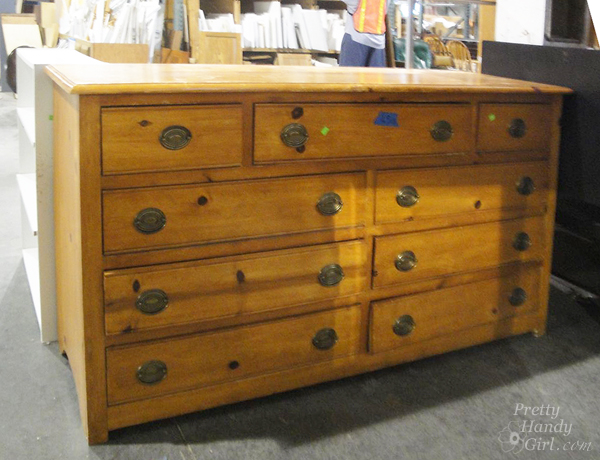 knotty pine dresser plans
