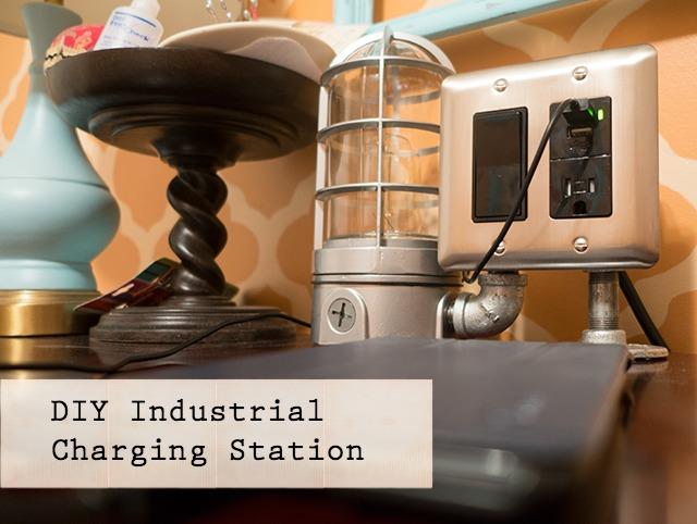 DIY Industrial Charging Station