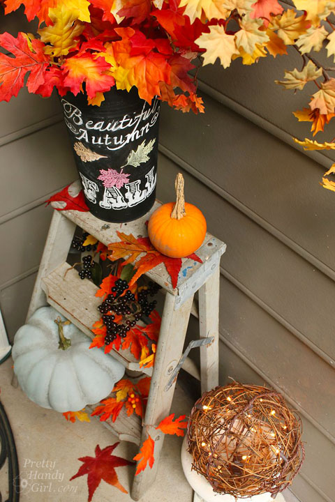 Fall Décor for Home Entrance