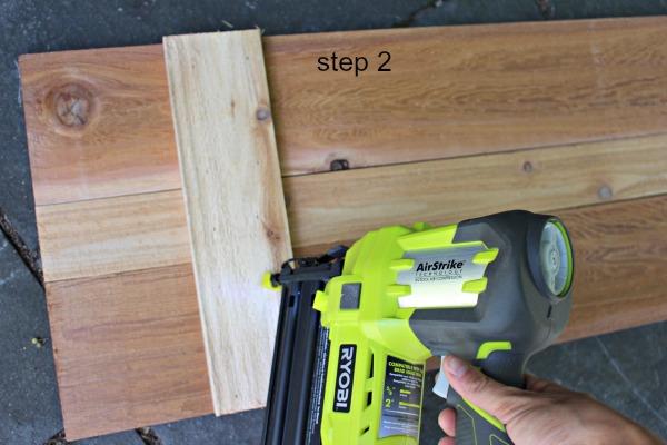 interior cedar shutters step 2