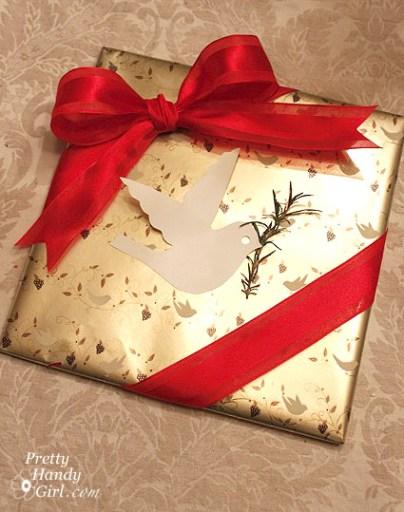 Dove Gift Wrap