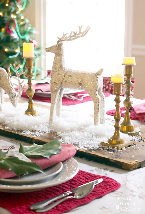 Holiday Tablescape | Pretty Handy Girl