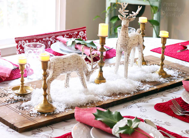 Holiday Tablescape   Pretty Handy Girl