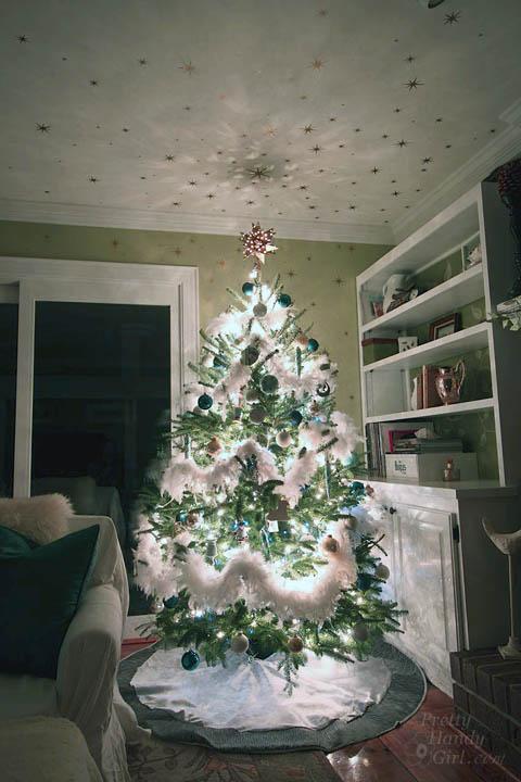 Starry Night Christmas Tree | Pretty Handy Girl