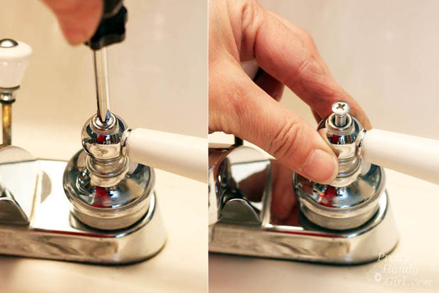 10 Minute Fix for a Leaky Faucet | Pretty Handy Girl