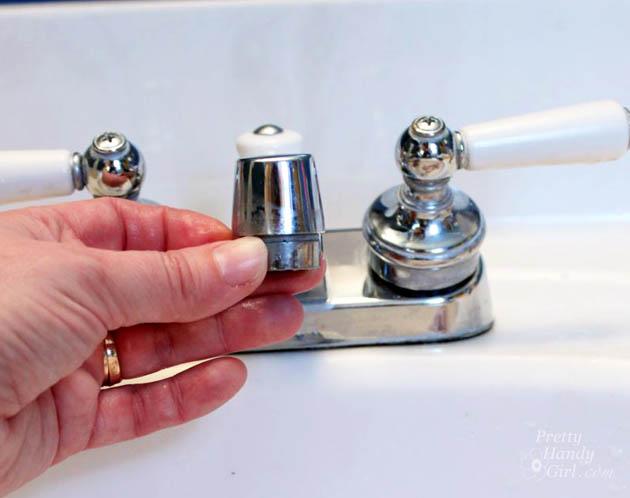 Fix a Leaky Faucet - Take 2 | Pretty Handy Girl