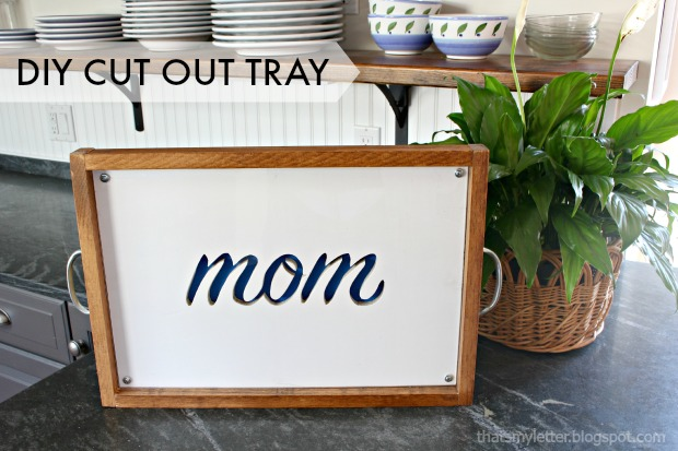 cut out tray title