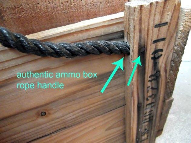 military wood ammo box