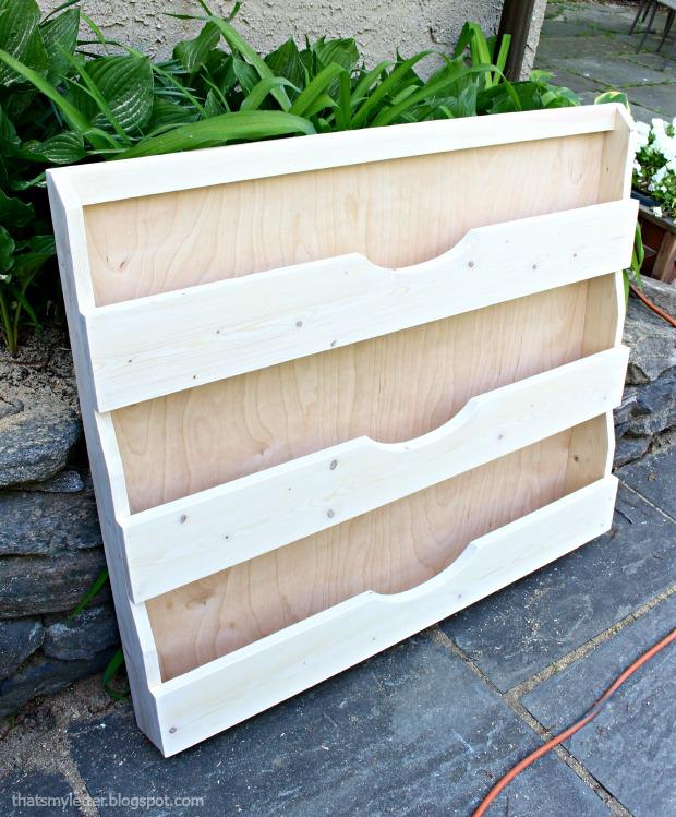 bookshelf tapered build