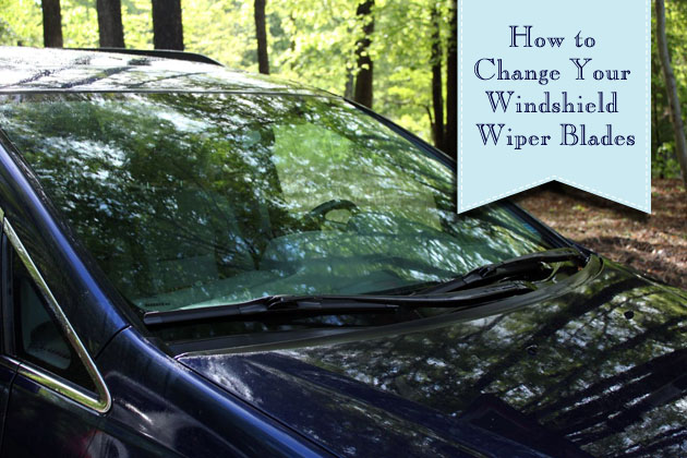 2 Minute Wiper Blade Change | Pretty Handy Girl