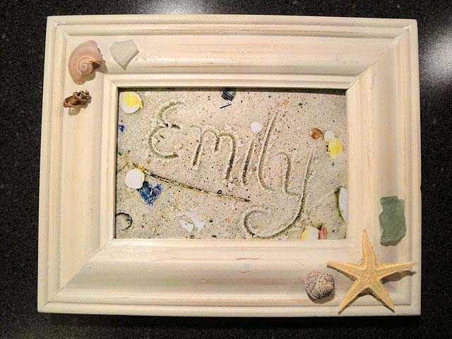 Writing Name in Sand Art | Pretty Handy Girl