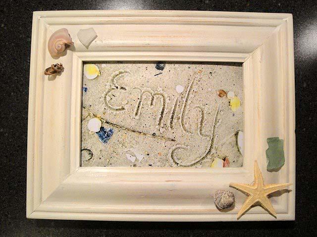 Writing Name in Sand Art | Pretty Handy Girl