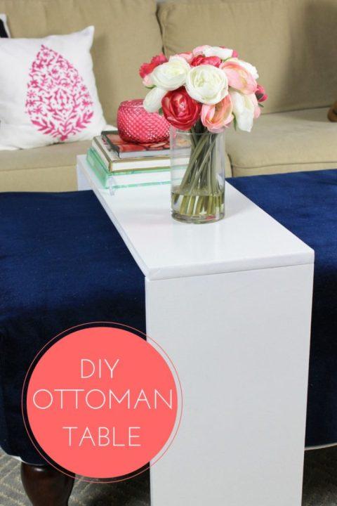 How to Make an Ottoman Table