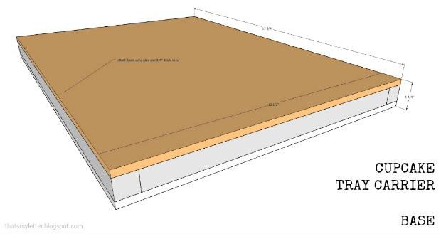 cupcake tray carrier base1