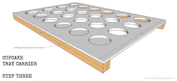 cupcake tray carrier step three