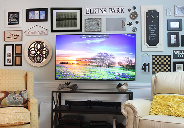 How to Hide Wires Behind a Wall Mounted TV