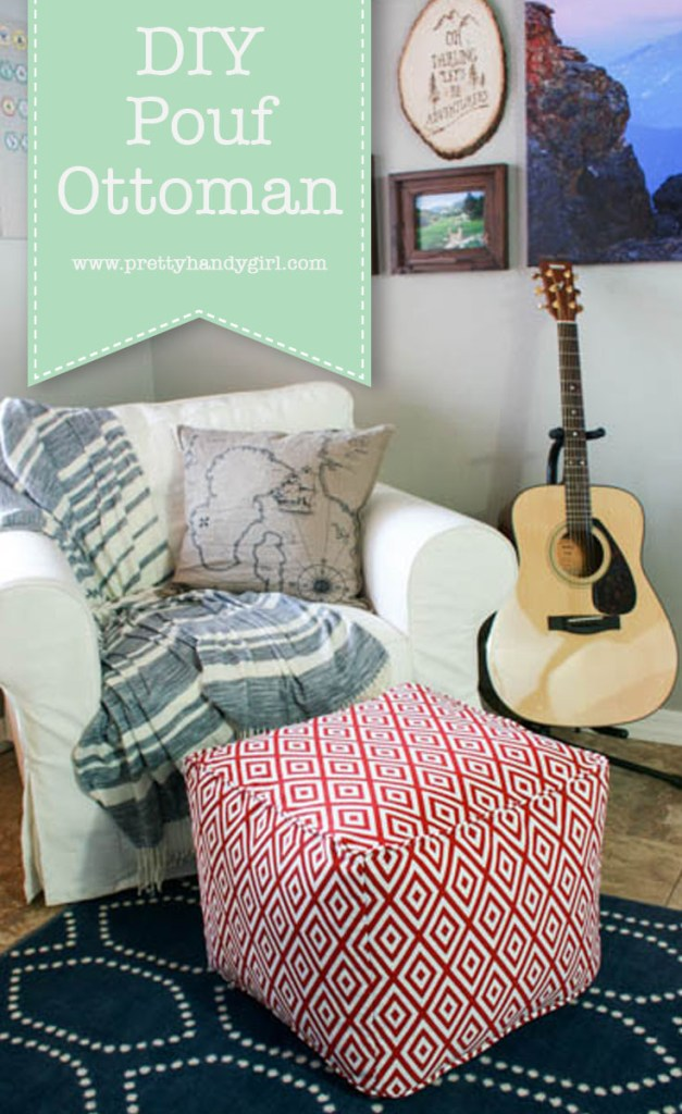 Enjoyable Diy Pouf Ottoman Tutorial And Lessons Learned Pretty Pdpeps Interior Chair Design Pdpepsorg