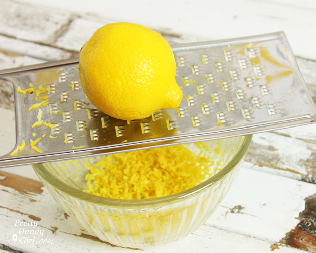 How Grate Zest Lemon