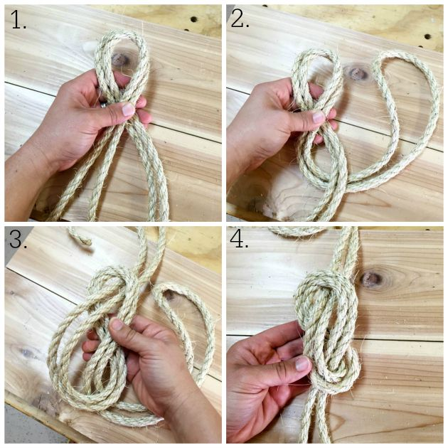 knot collage