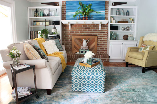 Pretty Handy Girl Living Room Reveal | Pretty Handy Girl