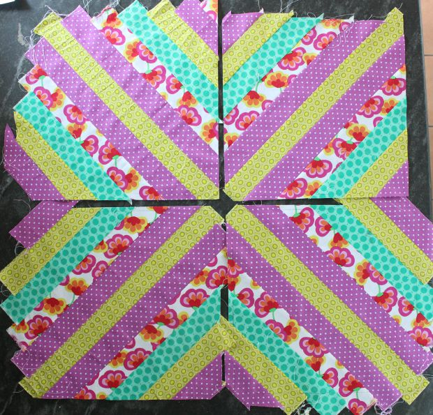 wall quilt step 3