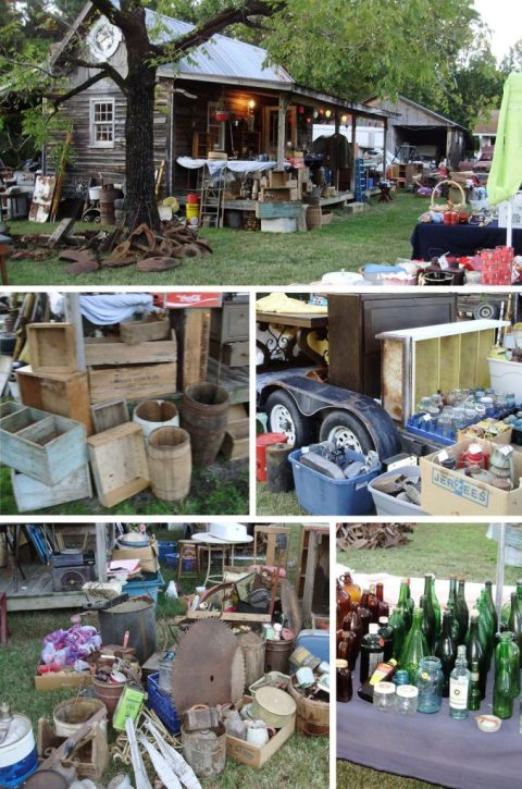 Rustic Yard Sale