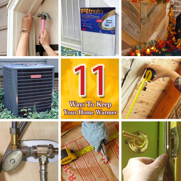 11 Ways to Keep Your Home Warmer This Winter | Pretty Handy Girl