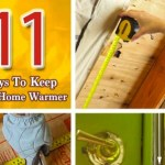 11 Ways to Keep Your Home Warmer | Pretty Handy Girl