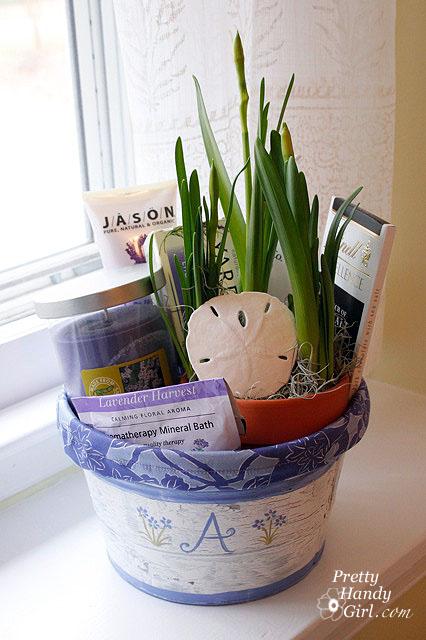 Line a Gift Bucket