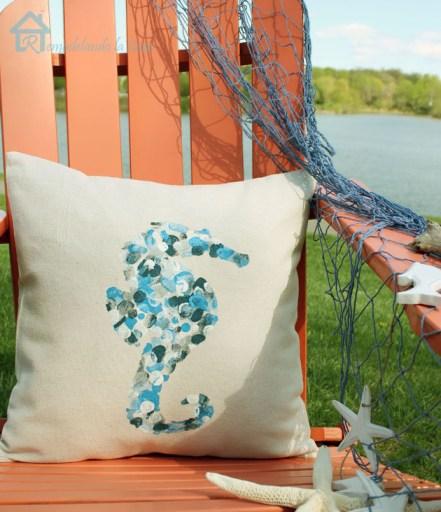 Thumbprint Design Envelope Pillow
