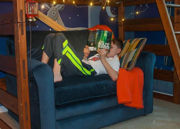 La Z Boy Leah Sleeper Chair And A Half