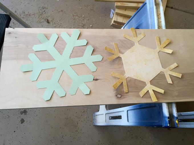 snowflake trivet step 1