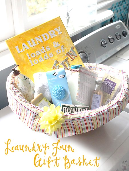 Laundry Fun Gift Basket