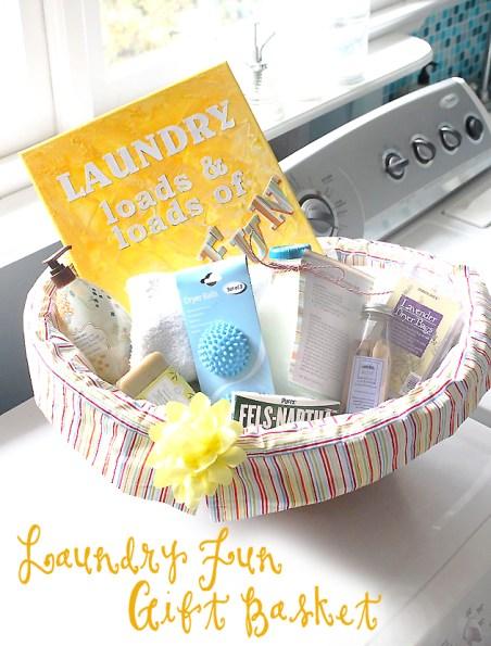 Laundry Fun Gift Basket