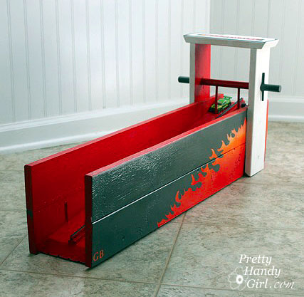 Matchbox Car Racing Ramp