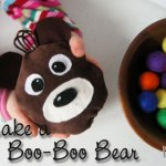 It's inevitable your little ones will get bump or bruise. Make them a Boo-Boo Bear to sweeten those tough times by Prodigal Pieces www.prodigalpieces.com #prodigalpieces