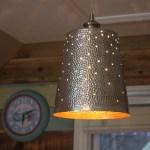 DIY Twinkling Pendant Light + Lighting Challenge Link Up