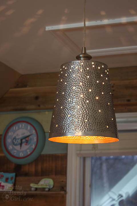 Diy Twinkling Pendant Light Lighting Challenge Link Up