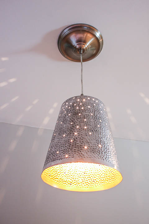 DIY Twinkling Light Pendant |Pretty Handy Girl