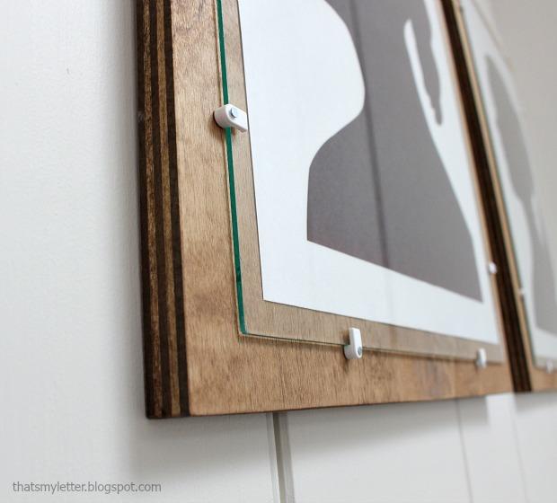 DIY Plywood Frame with Glass - Pretty Handy Girl