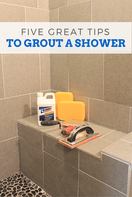 5 Great Tips To Grout A Shower Pretty Handy Girl