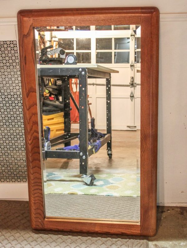 How to Frame a Dated Mirror