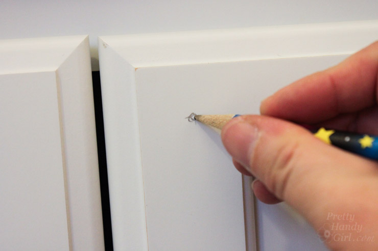 How to Install Cabinet Knobs Perfect the First Time | Pretty Handy Girl