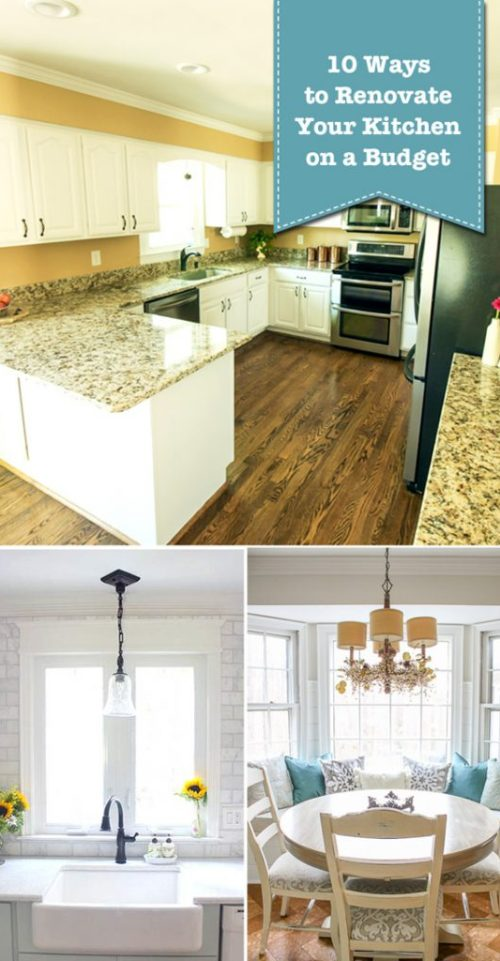10 Ways to Renovate Your Kitchen on a Budget - Pretty Handy Girl