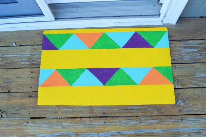DIY-Painted-Geometric-Rug-2
