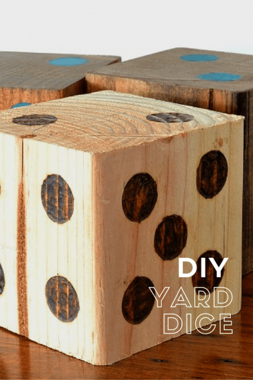 How to make yard dice | Outdoor Games | I Am a Homemaker | Pretty Handy Girl
