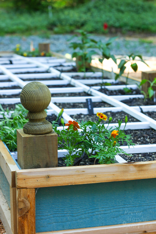 how to build a planter bed