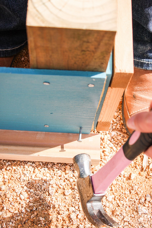 How to Build a Rot-Resistant Raised Planter Bed | Pretty Handy Girl